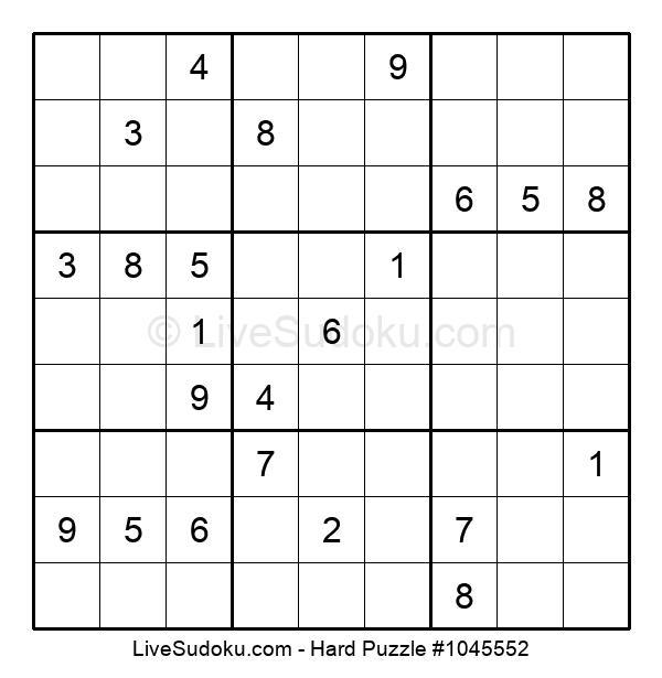 Hard Puzzle #1045552