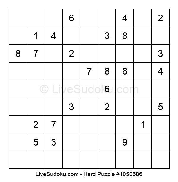 Hard Puzzle #1050586