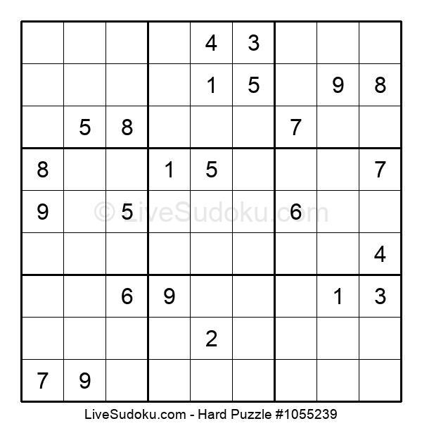 Hard Puzzle #1055239
