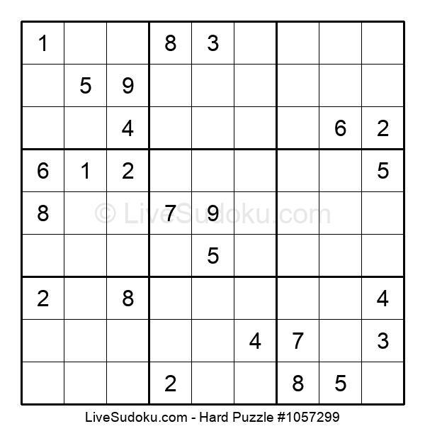Hard Puzzle #1057299