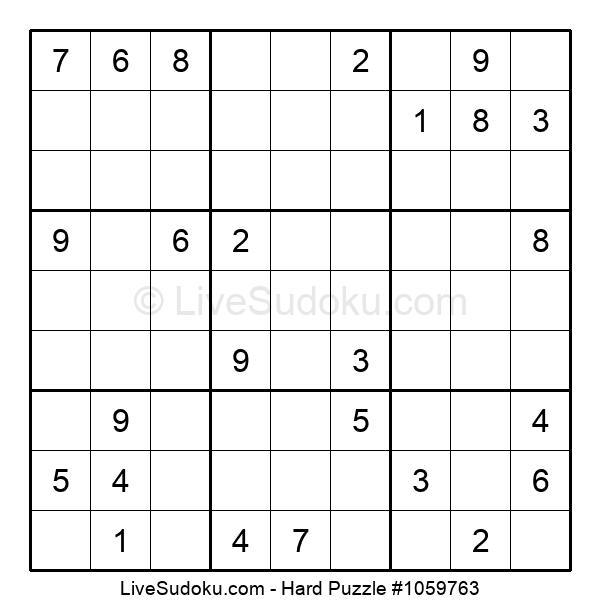 Hard Puzzle #1059763