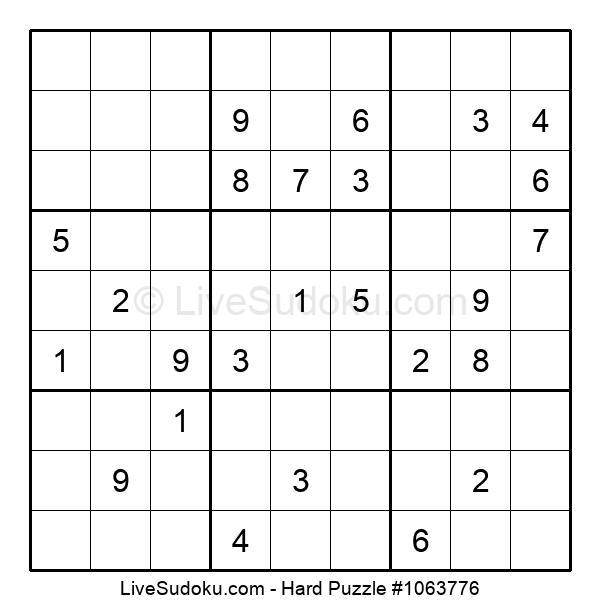 Hard Puzzle #1063776