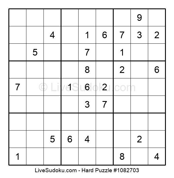 Hard Puzzle #1082703