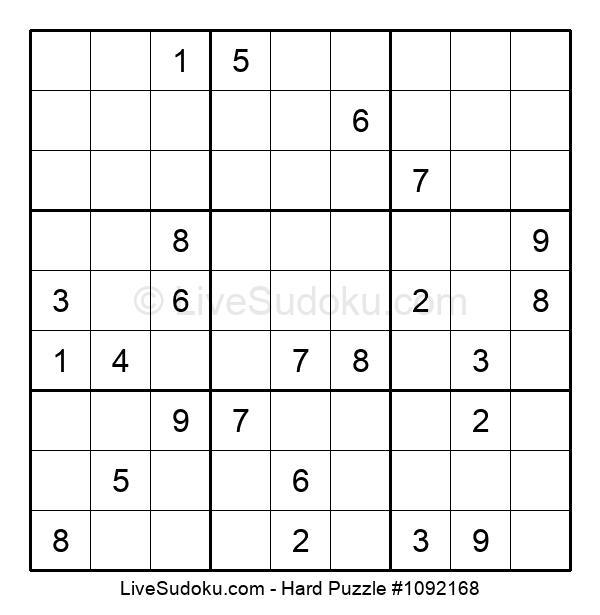 Hard Puzzle #1092168