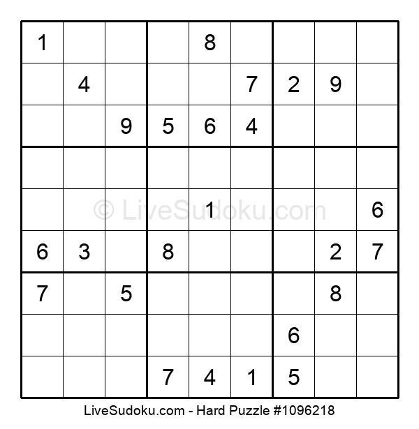 Hard Puzzle #1096218