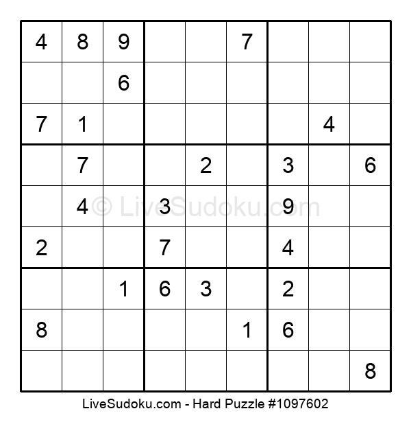 Hard Puzzle #1097602