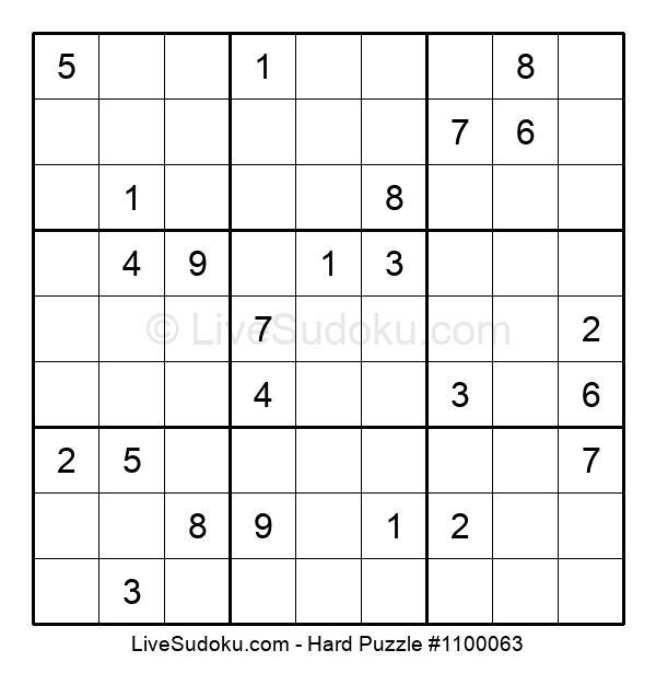 Hard Puzzle #1100063