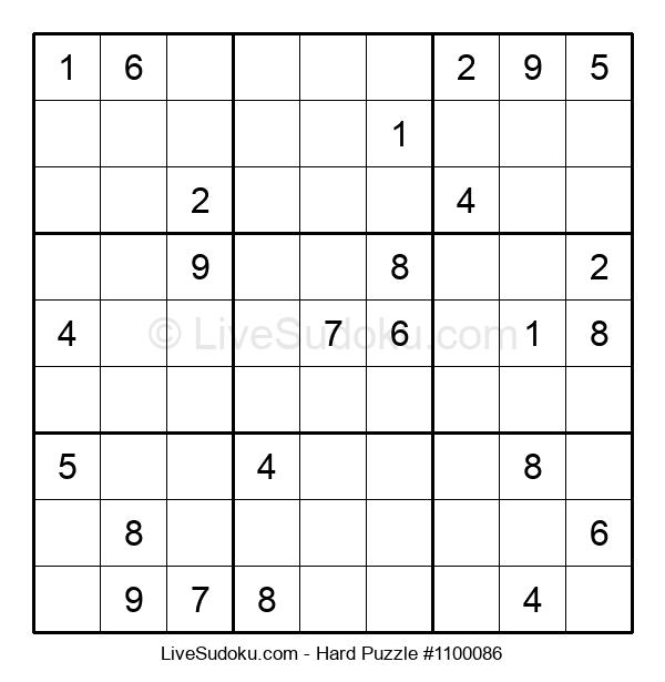 Hard Puzzle #1100086