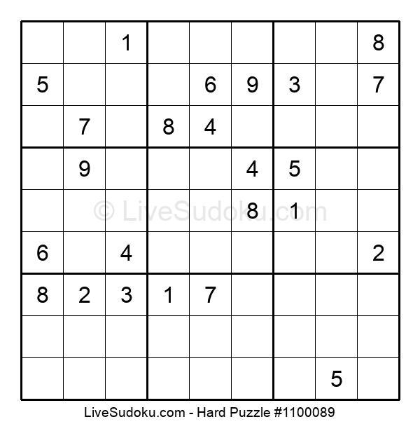 Hard Puzzle #1100089