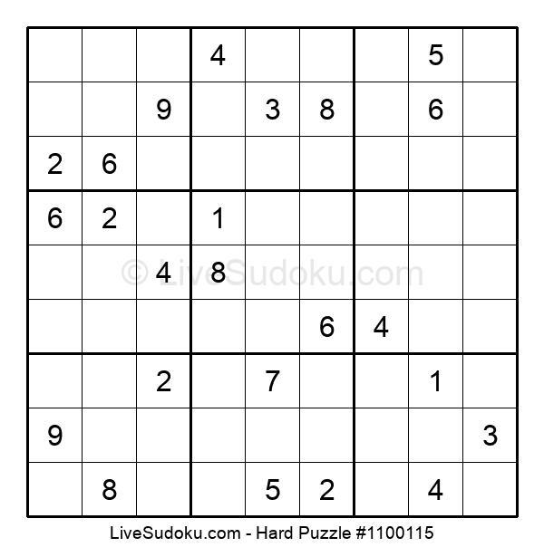 Hard Puzzle #1100115