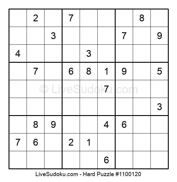 Hard Puzzle #1100120