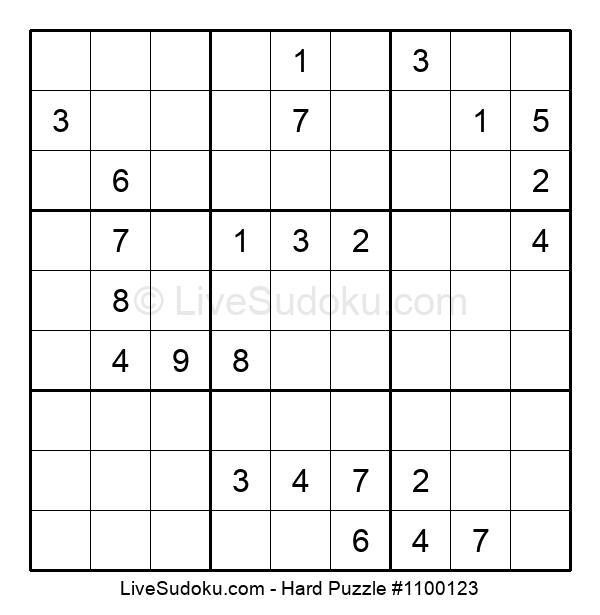 Hard Puzzle #1100123