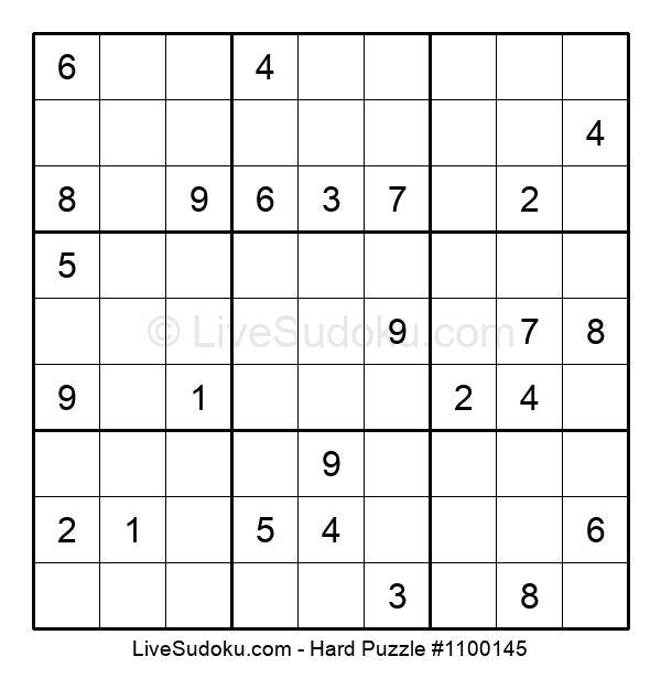 Hard Puzzle #1100145