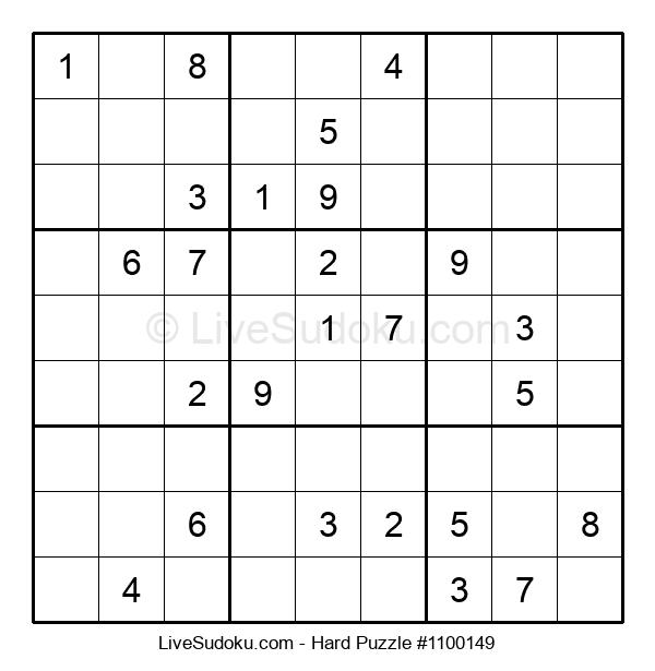 Hard Puzzle #1100149
