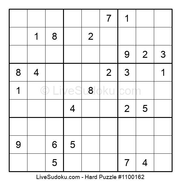 Hard Puzzle #1100162