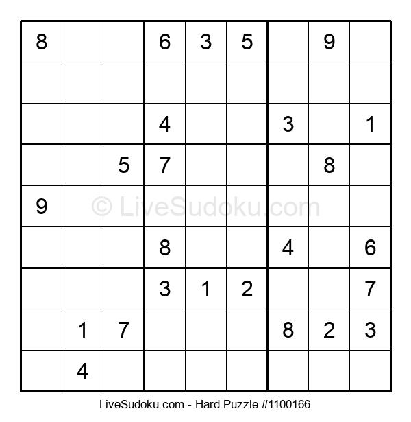 Hard Puzzle #1100166