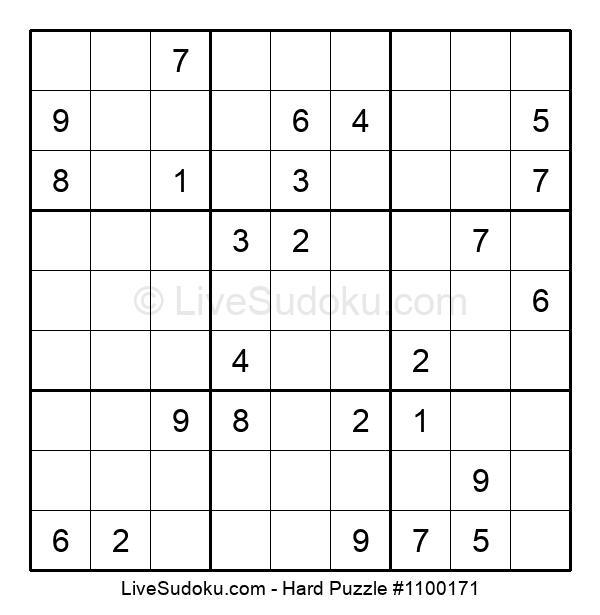 Hard Puzzle #1100171