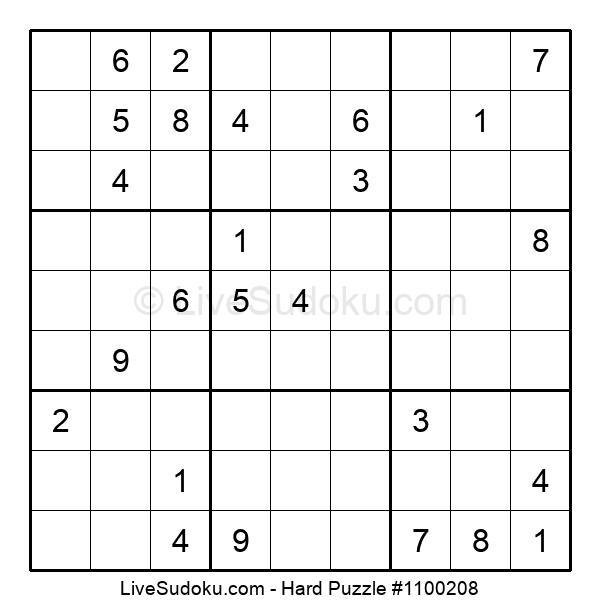 Hard Puzzle #1100208