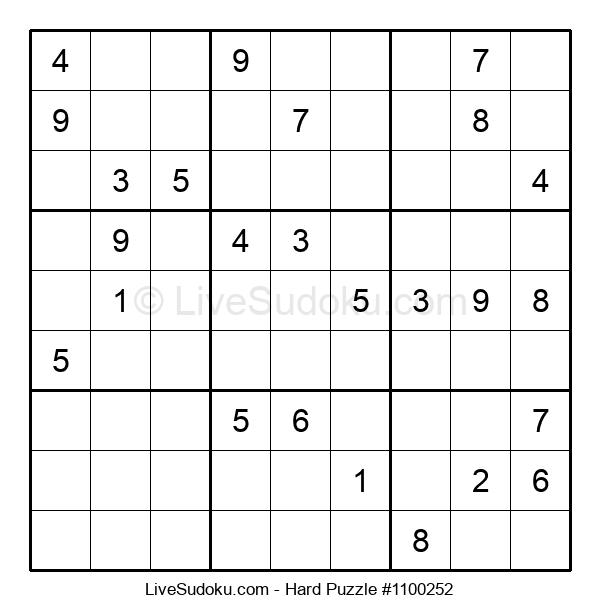 Hard Puzzle #1100252