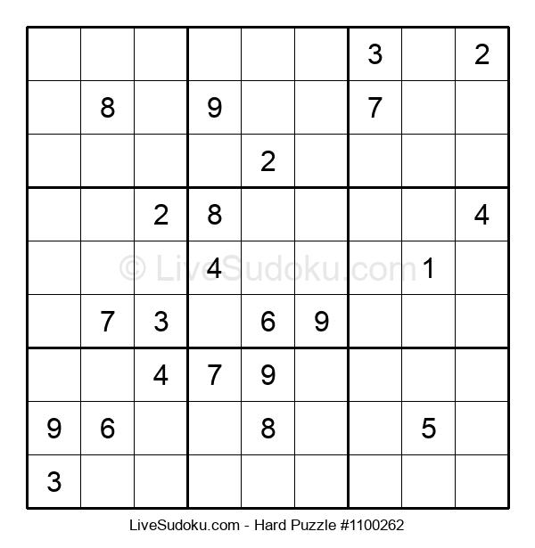 Hard Puzzle #1100262