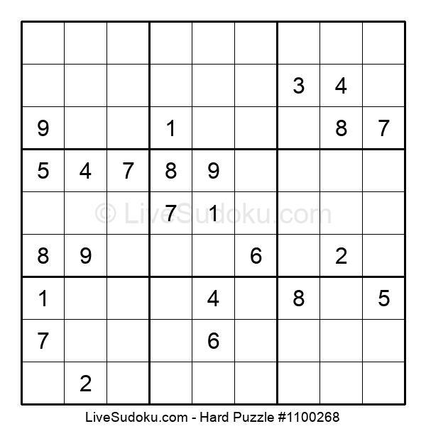 Hard Puzzle #1100268