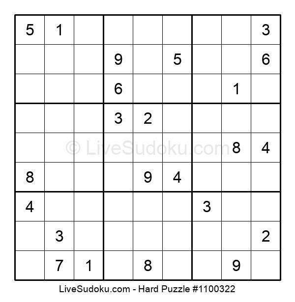 Hard Puzzle #1100322