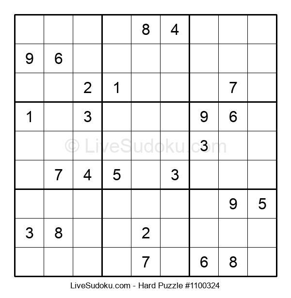 Hard Puzzle #1100324