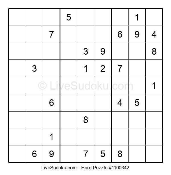 Hard Puzzle #1100342