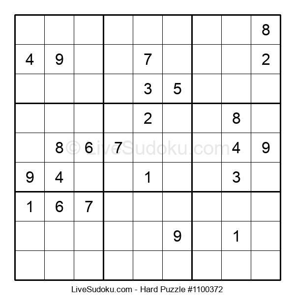 Hard Puzzle #1100372