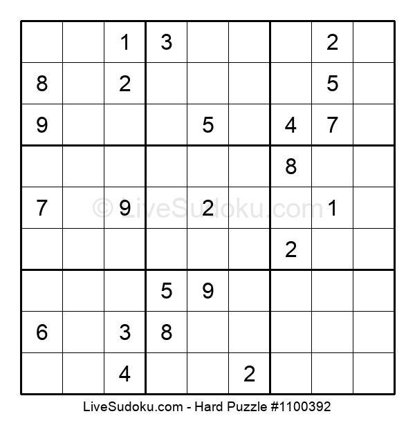 Hard Puzzle #1100392