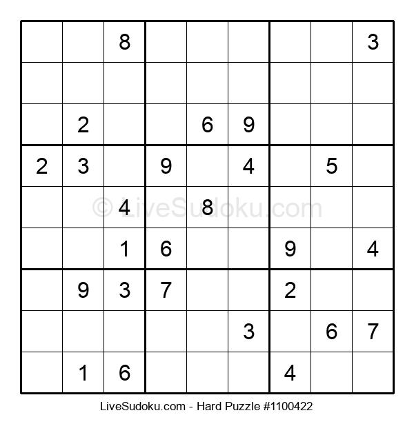 Hard Puzzle #1100422