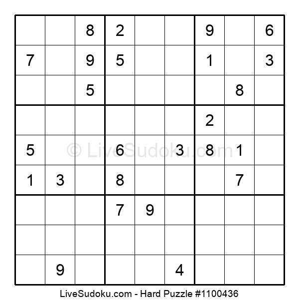Hard Puzzle #1100436