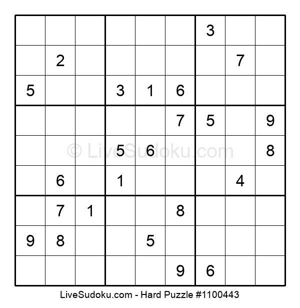 Hard Puzzle #1100443
