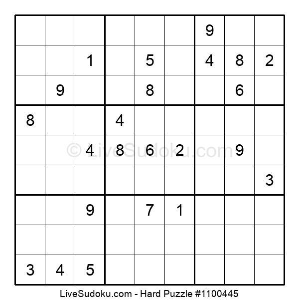Hard Puzzle #1100445