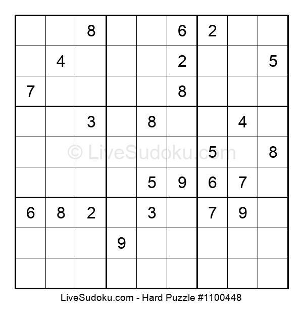 Hard Puzzle #1100448