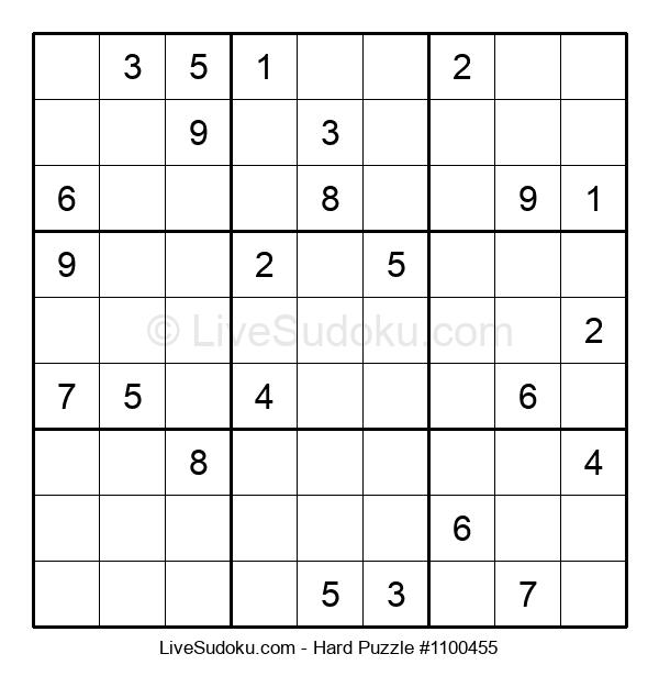 Hard Puzzle #1100455