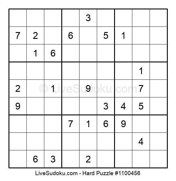 Hard Puzzle #1100456