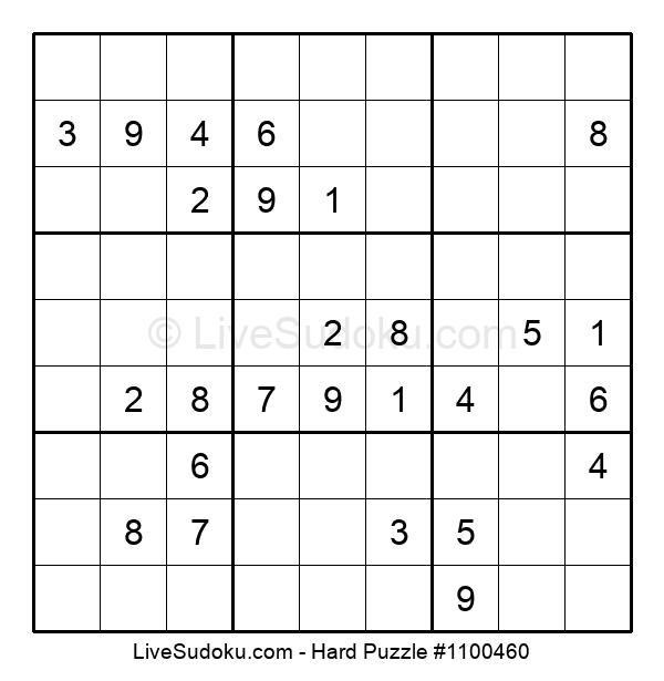 Hard Puzzle #1100460