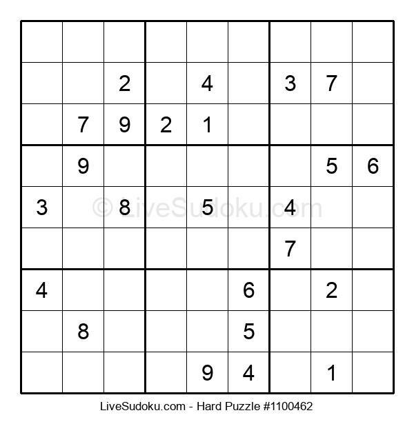 Hard Puzzle #1100462