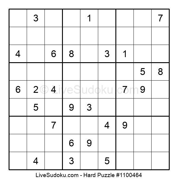 Hard Puzzle #1100464