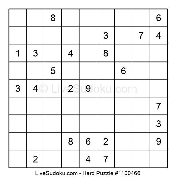 Hard Puzzle #1100466