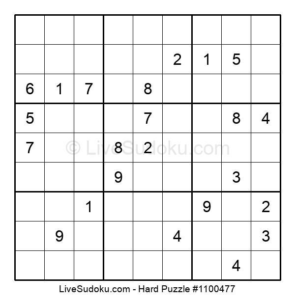 Hard Puzzle #1100477
