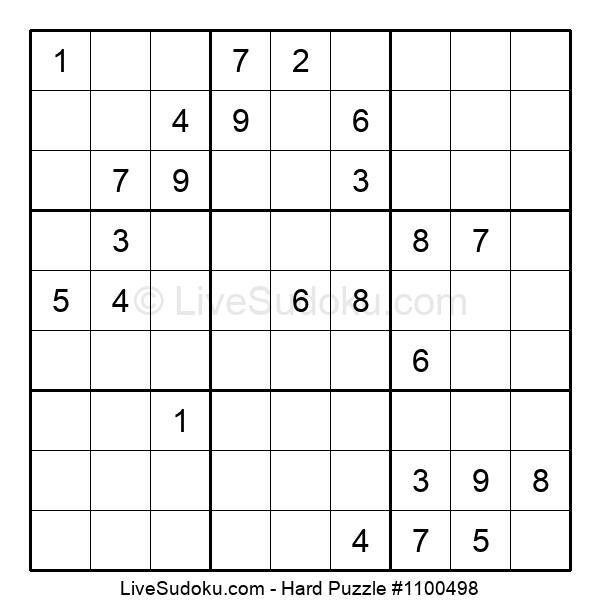 Hard Puzzle #1100498