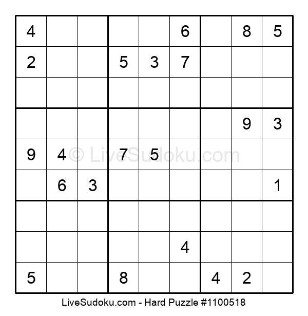 Hard Puzzle #1100518