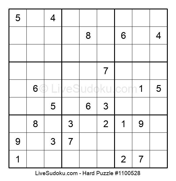 Hard Puzzle #1100528
