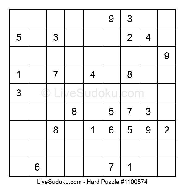 Hard Puzzle #1100574