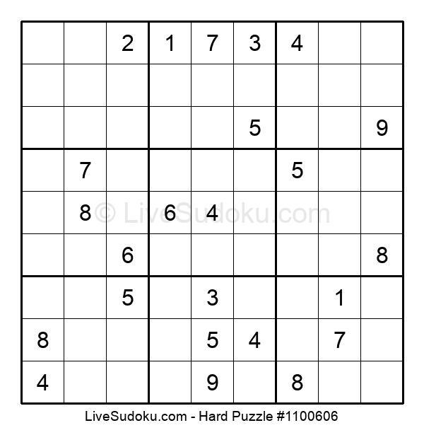 Hard Puzzle #1100606