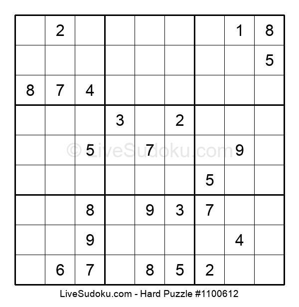 Hard Puzzle #1100612