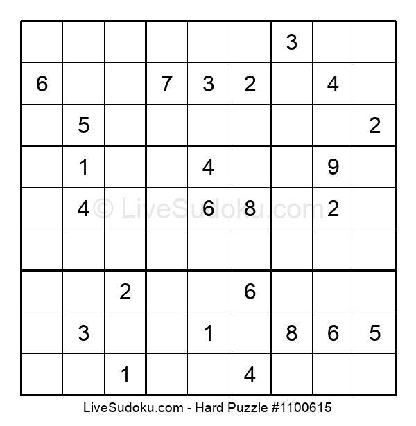 Hard Puzzle #1100615