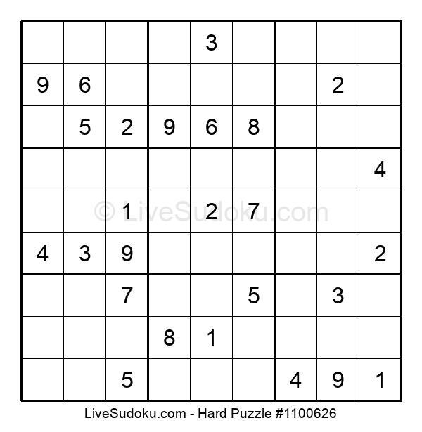 Hard Puzzle #1100626